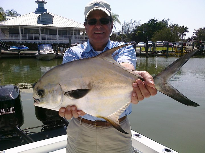 permit caught in Naples florida