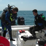 S1U Dive Boat Naples 2 divers