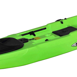 X-Caliber-Fishing-Kayak-Lime-Angle-View