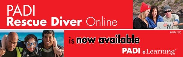 PADI Rescue Diver Pros' Site Flash Banner