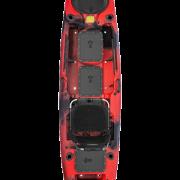 Malibu X-Factor-Lava-Fish-Dive-X-Seat kayak